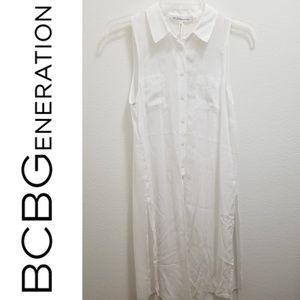 BCBGENERATION White Full Length Top